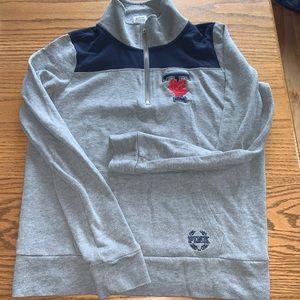 VS Pink Toronto Half-ZIP Sweatshirt